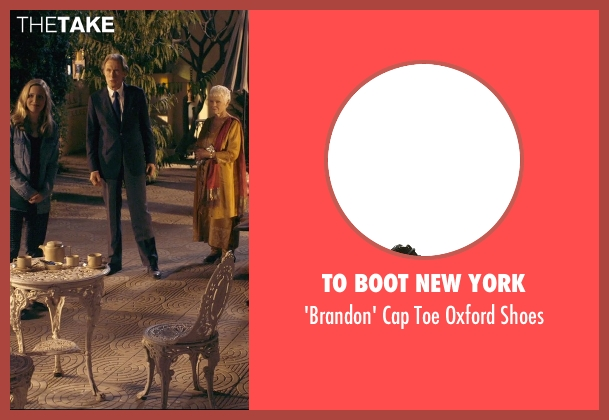 To Boot New York black shoes from The Second Best Exotic Marigold Hotel seen with Bill Nighy (Douglas Ainslie)