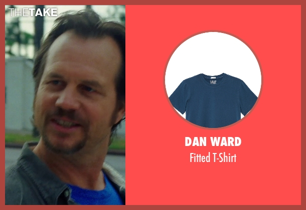 Dan Ward blue t-shirt from Nightcrawler seen with Bill Paxton (Joe Loder)