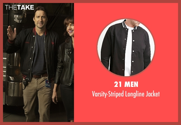 21 Men black jacket from Roadies seen with Bill (Luke Wilson)