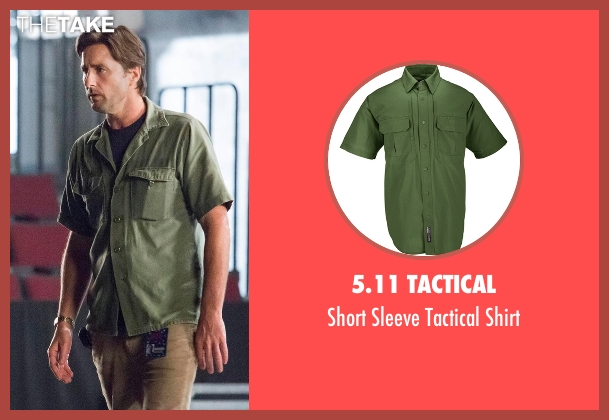 5.11 Tactical green shirt from Roadies seen with Bill (Luke Wilson)