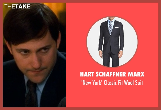 Hart Schaffner Marx black suit from Crazy, Stupid, Love. seen with Billy Atchison (Hannah's Colleague #4)