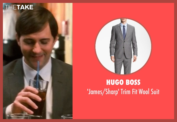 Hugo Boss gray suit from Crazy, Stupid, Love. seen with Billy Atchison (Hannah's Colleague #3)