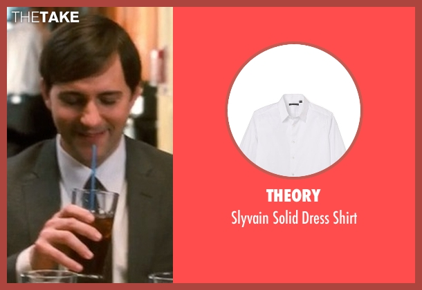 Theory white shirt from Crazy, Stupid, Love. seen with Billy Atchison (Hannah's Colleague #3)