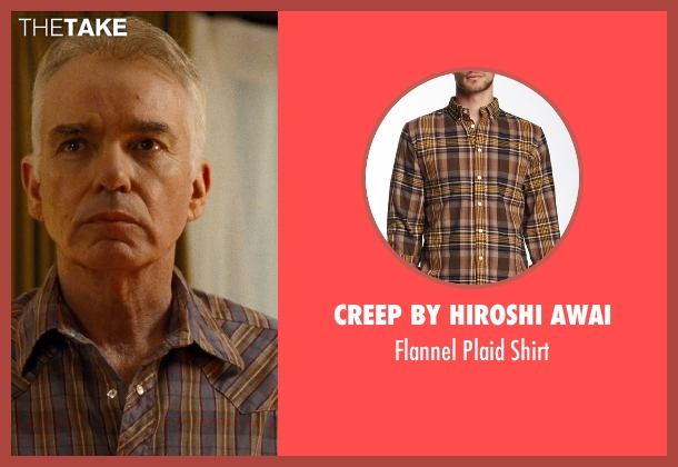Creep By Hiroshi Awai brown shirt from Cut Bank seen with Billy Bob Thornton (Unknown Character)