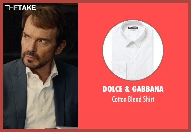 Dolce & Gabbana white shirt from Entourage seen with Billy Bob Thornton (Financier)