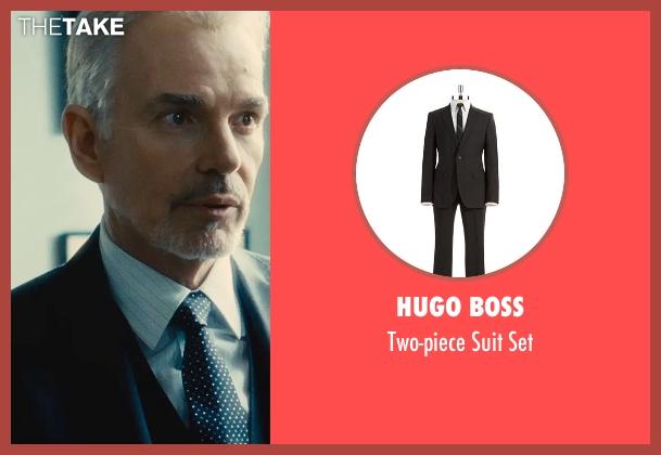 Hugo Boss black set from The Judge seen with Billy Bob Thornton (Dwight Dickham)