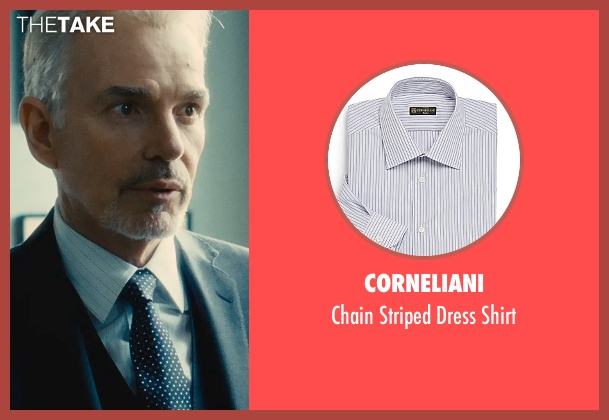 Corneliani white shirt from The Judge seen with Billy Bob Thornton (Dwight Dickham)