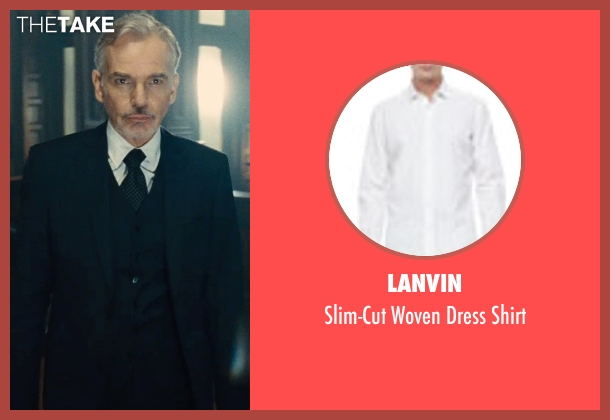 Lanvin white shirt from The Judge seen with Billy Bob Thornton (Dwight Dickham)