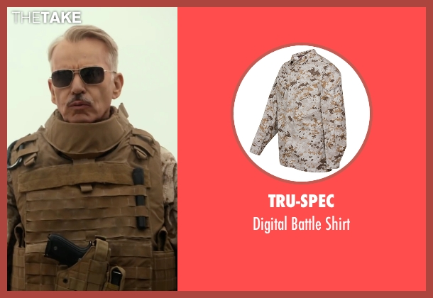 Tru-Spec shirt from Whiskey Tango Foxtrot seen with Billy Bob Thornton (Hollanek)