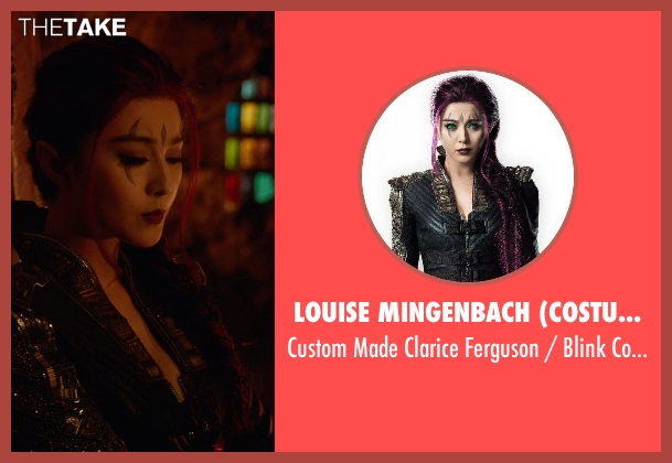 Louise Mingenbach (Costume Designer) costume from X-Men: Days of Future Past seen with Bingbing Fan (Clarice Ferguson / Blink)