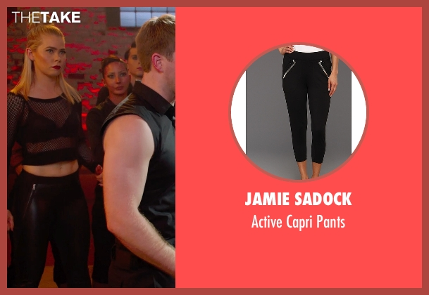 Jamie Sadock black pants from Pitch Perfect 2 seen with Birgitte Hjort Sørensen (Unknown Character)