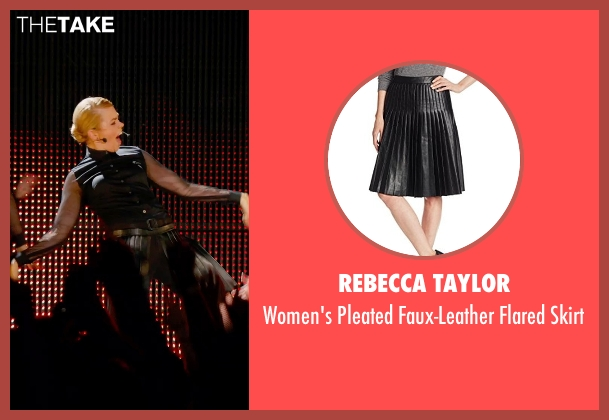 Rebecca Taylor black skirt from Pitch Perfect 2 seen with Birgitte Hjort Sørensen (Unknown Character)
