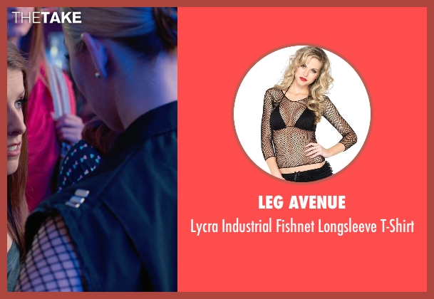 Leg Avenue black t-shirt from Pitch Perfect 2 seen with Birgitte Hjort Sørensen (Unknown Character)