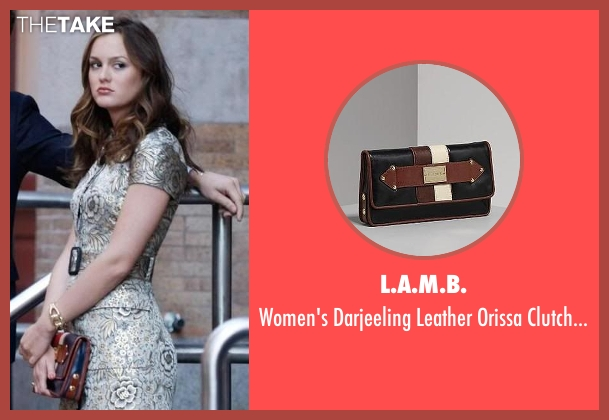 L.A.M.B. blue bag from Gossip Girl seen with Blair Waldorf (Leighton Meester)