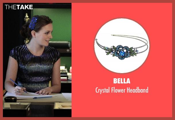 Bella blue headband from Gossip Girl seen with Blair Waldorf (Leighton Meester)