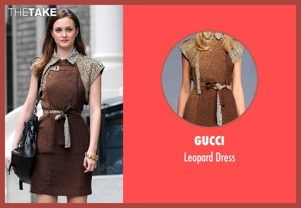 Gucci dress from Gossip Girl seen with Blair Waldorf (Leighton Meester)