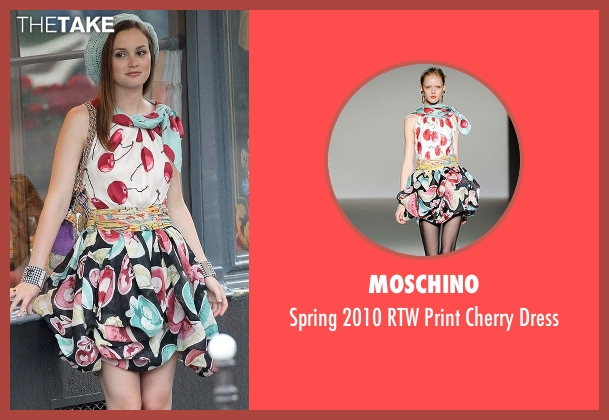 Moschino dress from Gossip Girl seen with Blair Waldorf (Leighton Meester)