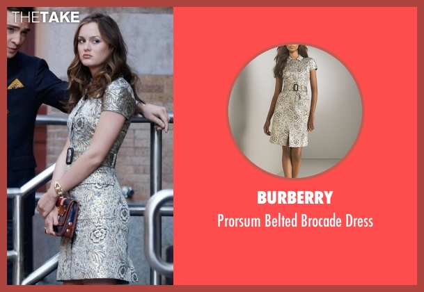 Burberry dress from Gossip Girl seen with Blair Waldorf (Leighton Meester)