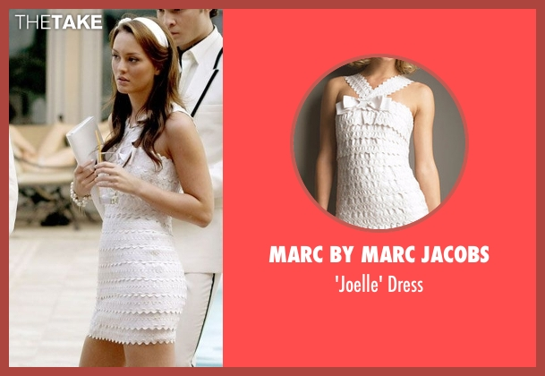Marc By Marc Jacobs white dress from Gossip Girl seen with Blair Waldorf (Leighton Meester)