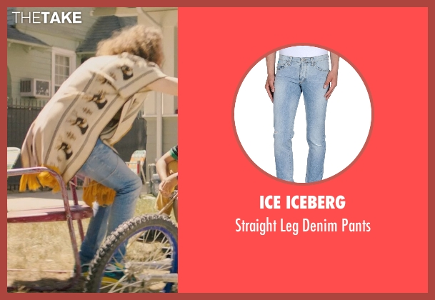Ice Iceberg blue pants from Dope seen with Blake Anderson (Will)