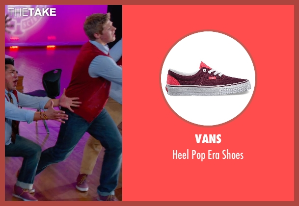 Vans shoes from Pitch Perfect 2 seen with Blake Burt (Treblemaker 4)