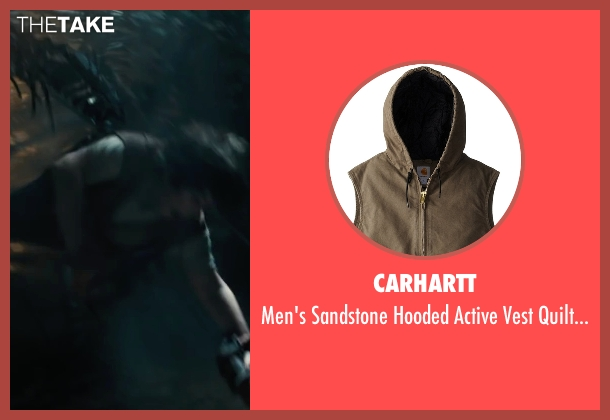 Carhartt brown lined from Maze Runner: The Scorch Trials seen with Blake Cooper (Chuck)