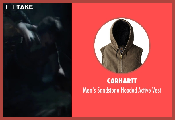Carhartt vest from The Maze Runner seen with Blake Cooper (Chuck)