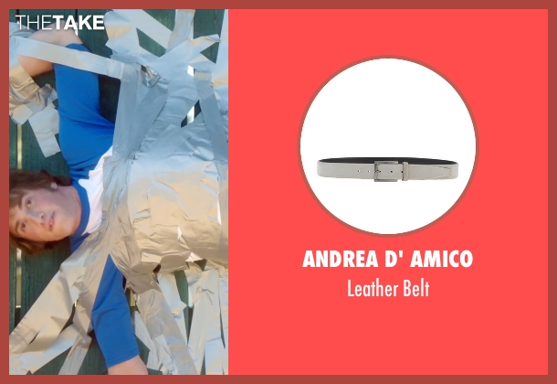 Andrea D' Amico gray belt from Everybody Wants Some seen with Blake Jenner (Jake)