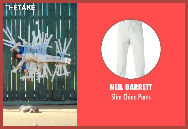 Neil Barrett gray pants from Everybody Wants Some seen with Blake Jenner (Jake)