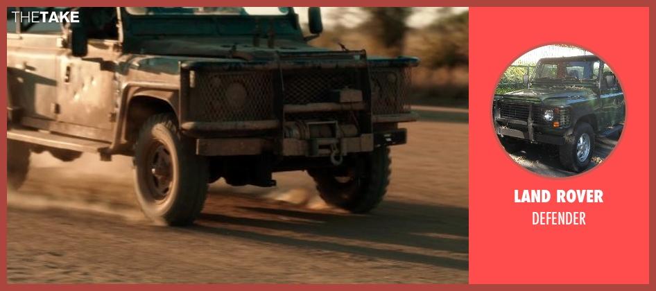 Land Rover defender from Blended
