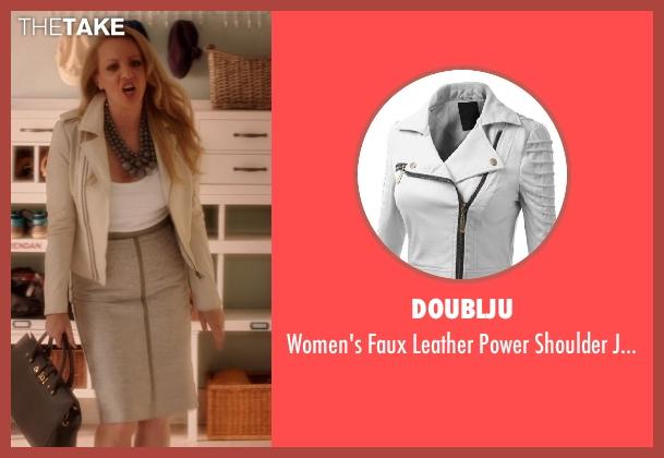 Doublju white jacket from Blended