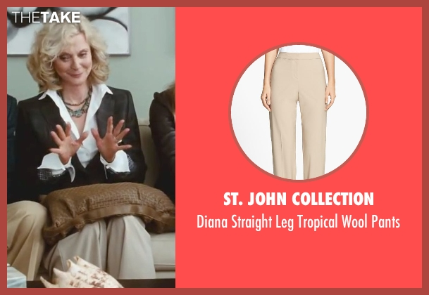 St. John Collection beige pants from Little Fockers seen with Blythe Danner (Dina Byrnes)