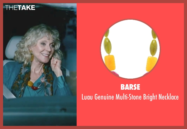 Barse blue necklace from Little Fockers seen with Blythe Danner (Dina Byrnes)