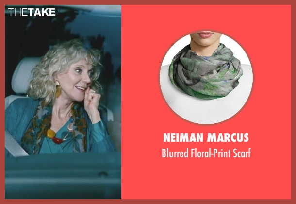 Neiman Marcus green scarf from Little Fockers seen with Blythe Danner (Dina Byrnes)