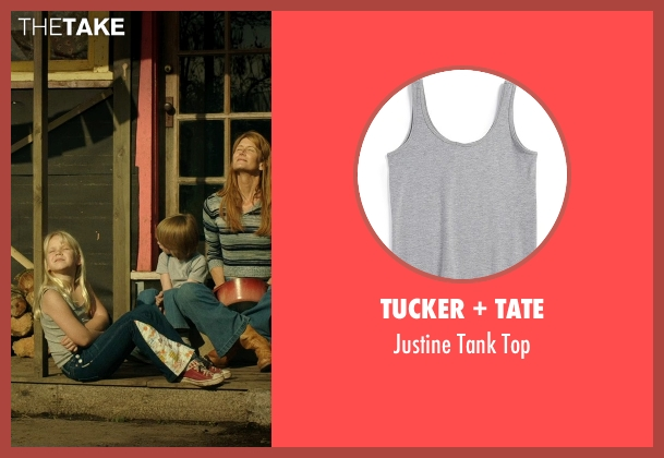 Tucker + Tate gray top from Wild seen with Bobbi Strayed Lindstrom (Cheryl (6 Yrs Old))