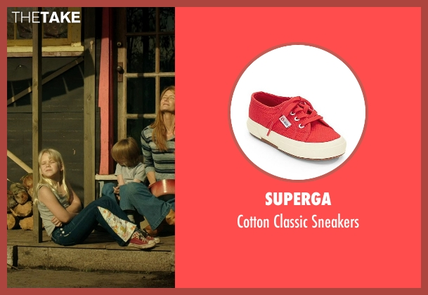 Superga red sneakers from Wild seen with Bobbi Strayed Lindstrom (Cheryl (6 Yrs Old))