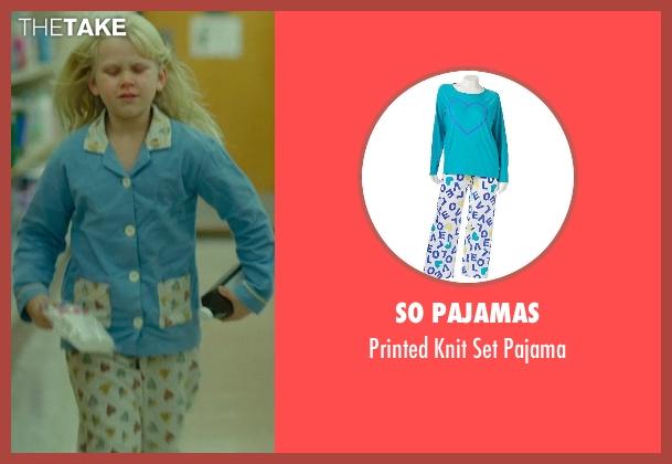 SO Pajamas white pajama from Wild seen with Bobbi Strayed Lindstrom (Cheryl (6 Yrs Old))
