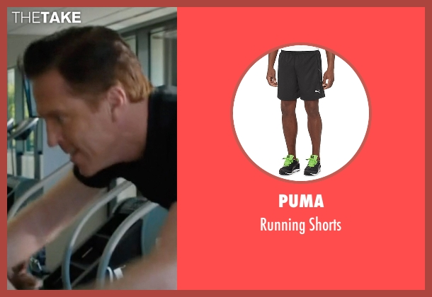 Puma black shorts from Billions seen with Bobby Axelrod (Damian Lewis)