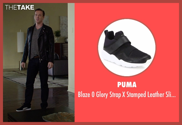 Puma black sneakers from Billions seen with Bobby Axelrod (Damian Lewis)