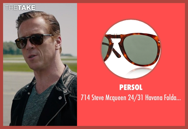 Persol brown sunglasses from Billions seen with Bobby Axelrod (Damian Lewis)