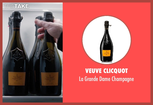 Veuve Clicquot champagne from Billions seen with Bobby Axelrod (Damian Lewis)