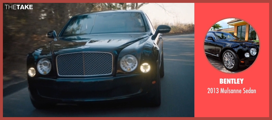 Bentley sedan from Billions seen with Bobby Axelrod (Damian Lewis)