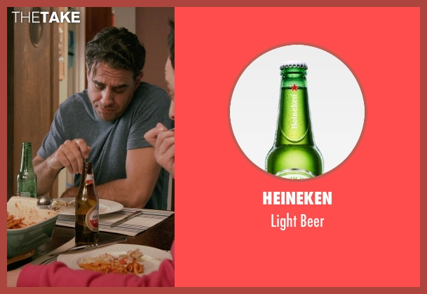 Heineken beer from Adult Beginners seen with Bobby Cannavale (Danny)