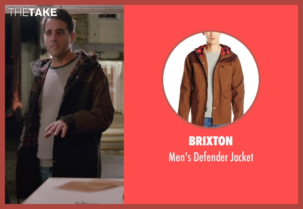 Brixton brown jacket from Adult Beginners seen with Bobby Cannavale (Danny)