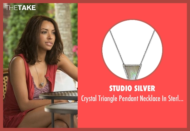 Studio Silver silver silver from The Vampire Diaries seen with Bonnie Bennett (Kat Graham)
