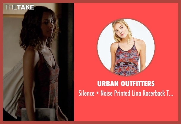 Urban Outfitters top from The Vampire Diaries seen with Bonnie Bennett (Kat Graham)