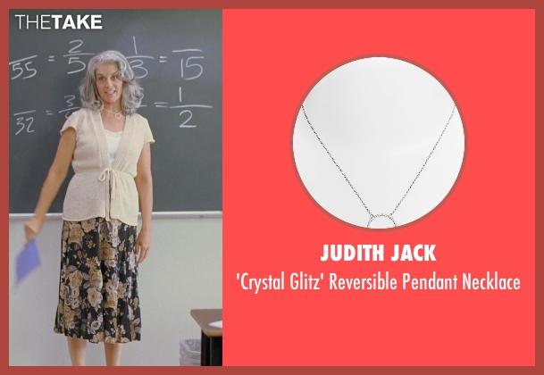 Judith Jack silver necklace from Boyhood seen with Bonnie Cross (Teacher)