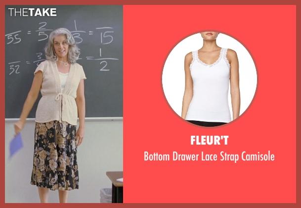 Fleur't white camisole from Boyhood seen with Bonnie Cross (Teacher)