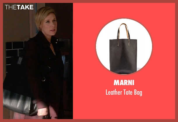 Marni black bag from How To Get Away With Murder seen with Bonnie Winterbottom (Liza Weil)