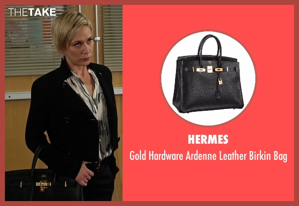 Hermes black bag from How To Get Away With Murder seen with Bonnie Winterbottom (Liza Weil)